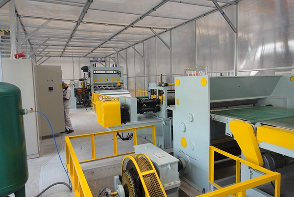 Great Wall Car Site High Strength Plate Cutting Line